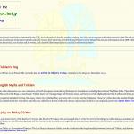 Society's former webdesign