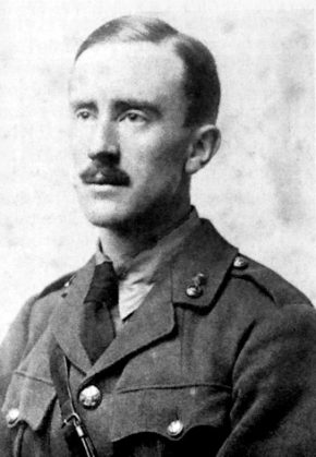 J.R.R. Tolkien in 1916