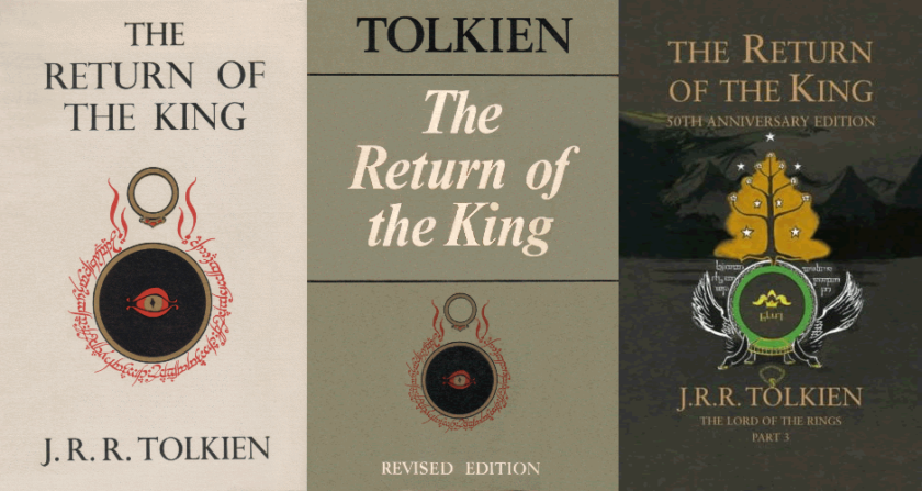Various covers of The Return of the King