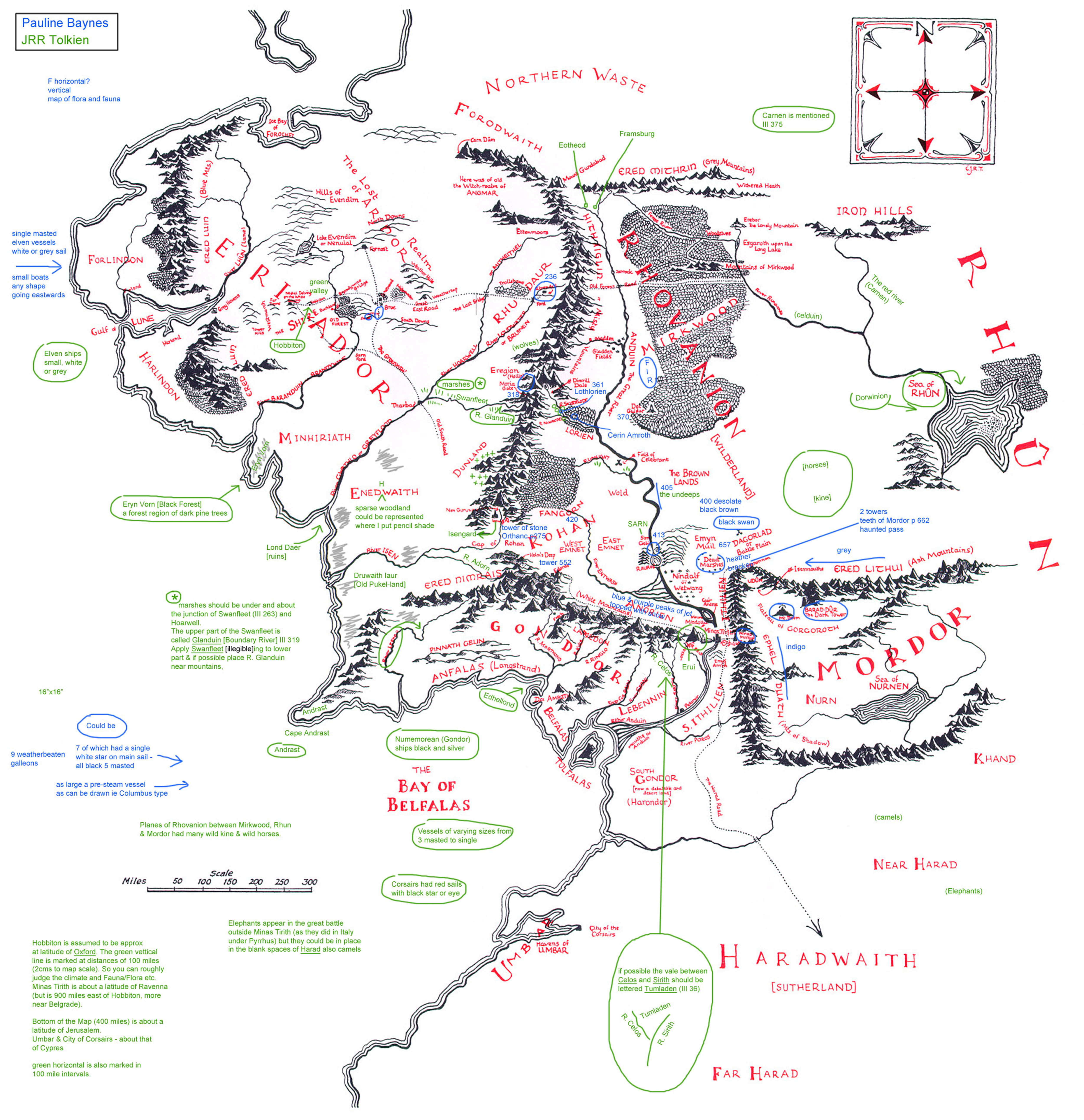 JRR Tolkien Lord of the Rings Middle Earth map unveiled books – Best Middle Earth Map