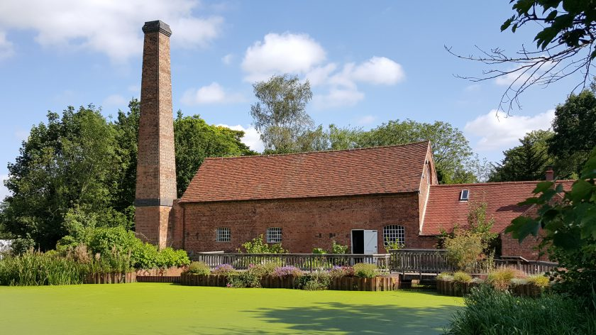 Sarehole Mill and the mill pond, September 2015.