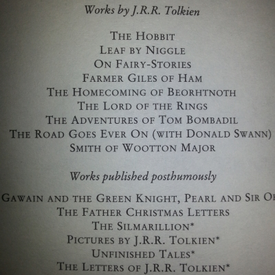 books-by-tolkien