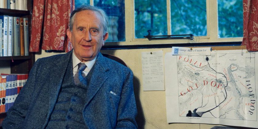 J.R.R. Tolkien by Pamela Chandler. © Diana Willson