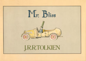 The cover of Mr. Bliss. A live storytelling will take place on Tolkien Reading Day