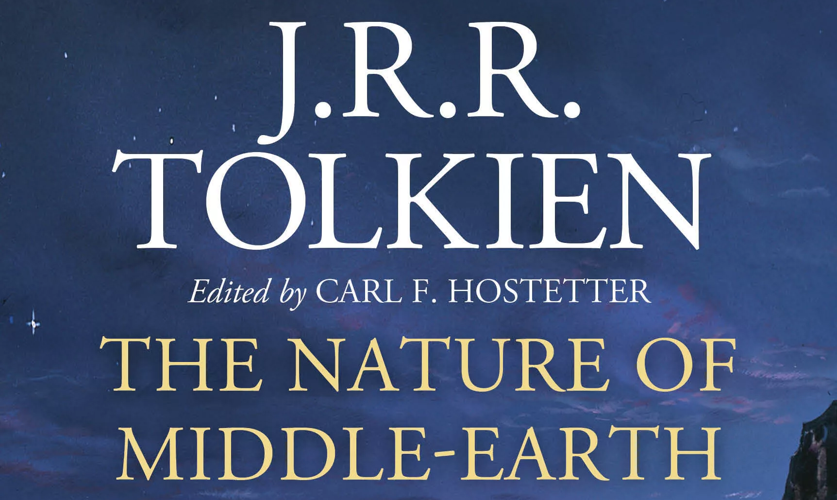 New Tolkien book: The Nature of Middle-earth